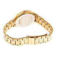 Relógio Analógico Feminino Chilli Beans Crystal Facetado Dourado RE.MT.1194-2121.2