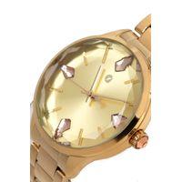 Relógio Analógico Feminino Chilli Beans Crystal Facetado Dourado RE.MT.1194-2121.5