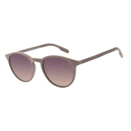 Óculos de Sol Unissex Eco Falésias Redondo Marrom OC.CL.3277-2002