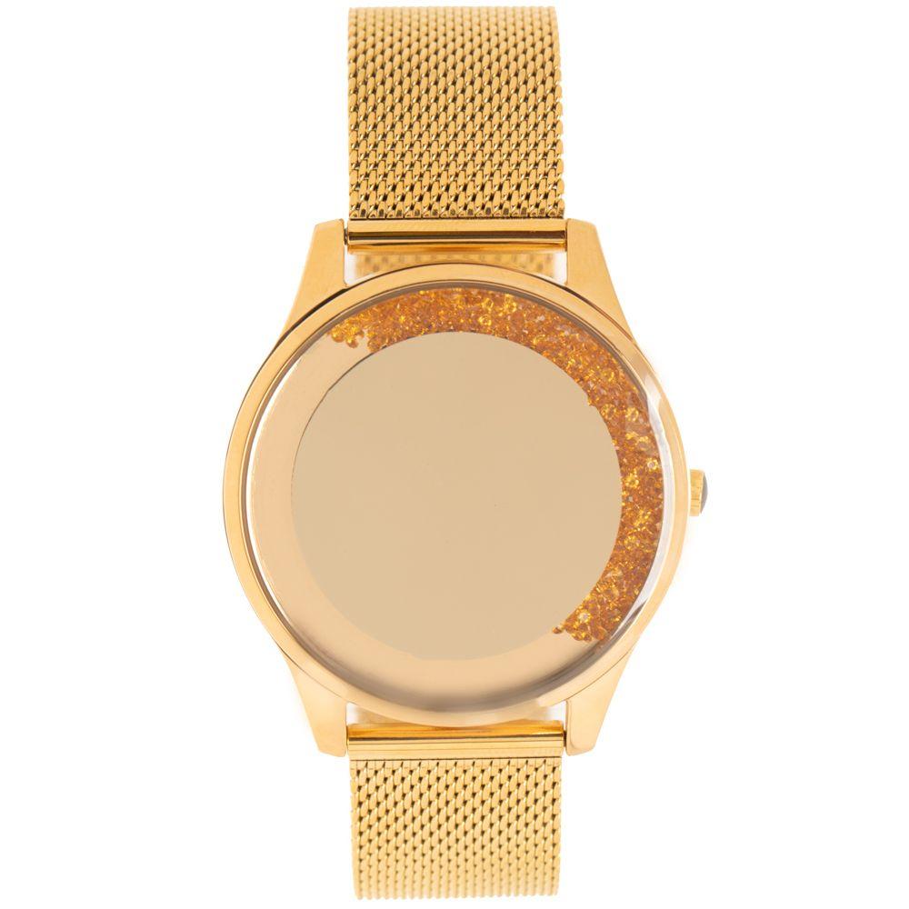 Relógio Digital Feminino Chilli Beans Crystal Pedrarias Dourado RE.MT.1195-2121