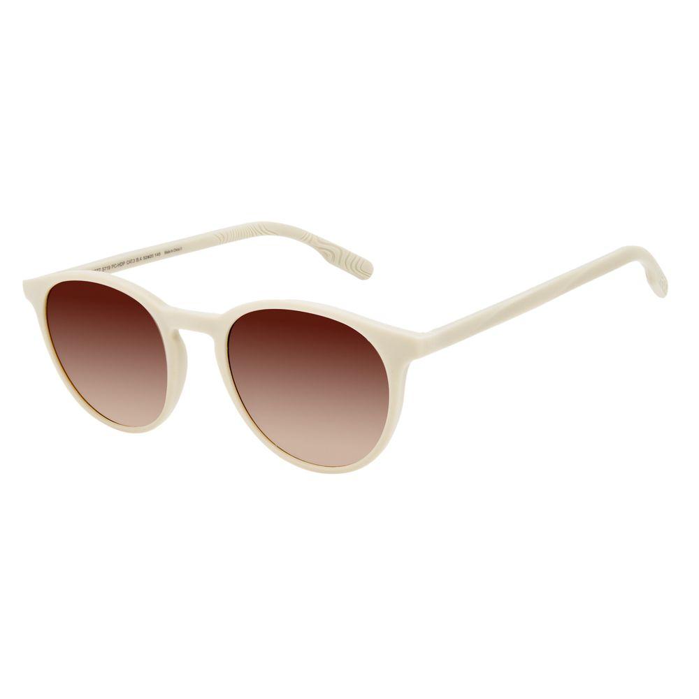 Óculos de Sol Unissex Eco Falésias Redondo Branco OC.CL.3277-5719