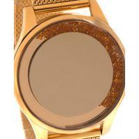 Relógio Digital Feminino Chilli Beans Crystal Pedrarias Dourado RE.MT.1195-2121.5
