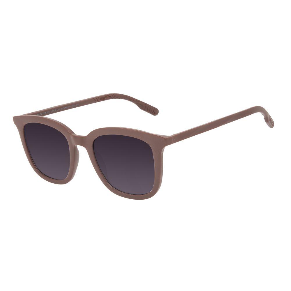 Óculos de Sol Feminino Eco Falésias Quadrado Casual Vinho OC.CL.3278-2017