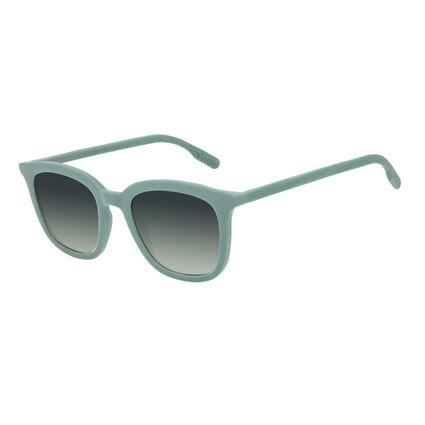 Óculos de Sol Feminino Eco Falésias Quadrado Casual Verde OC.CL.3278-8215
