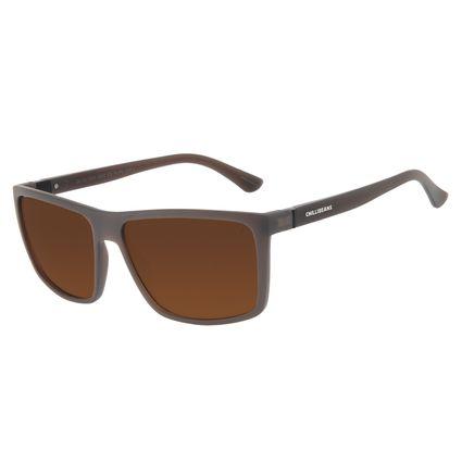 Óculos de Sol Masculino Chilli Beans Bossa Nova Marrom OC.CL.3306-0201