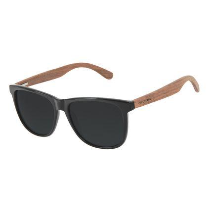 Óculos de Sol Masculino Chilli Beans Bamboo Polarizado Quadrado Brilho OC.CL.3335-0130
