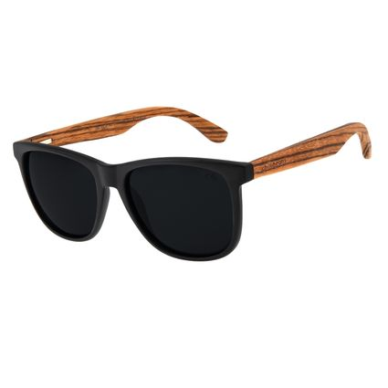 Óculos de Sol Masculino Chilli Beans Bamboo Polarizado Quadrado Fosco OC.CL.3335-0131