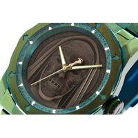 Relógio Analógico Masculino Harry Potter Comensais da Morte Verde RE.MT.1233-0115.5