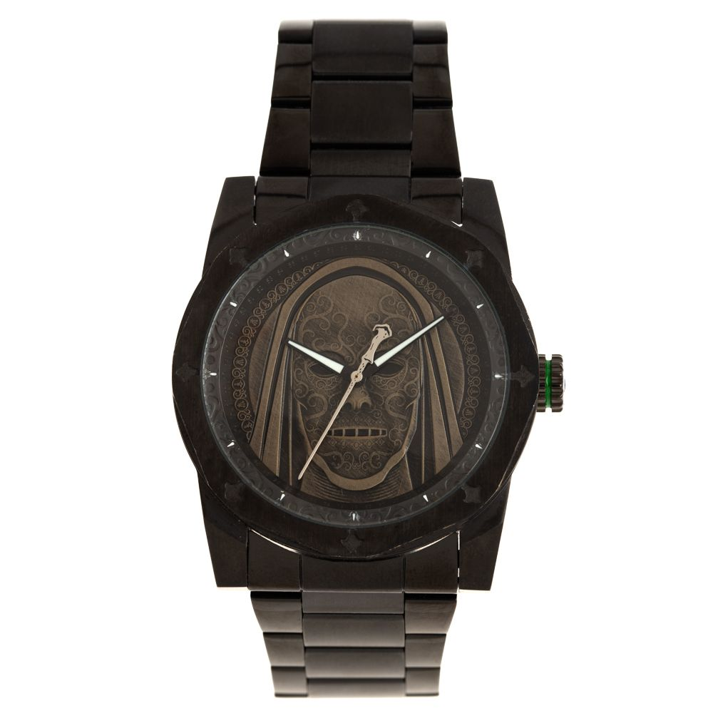 Relógio Analógico Masculino Harry Potter Comensais da Morte Preto RE.MT.1233-2201