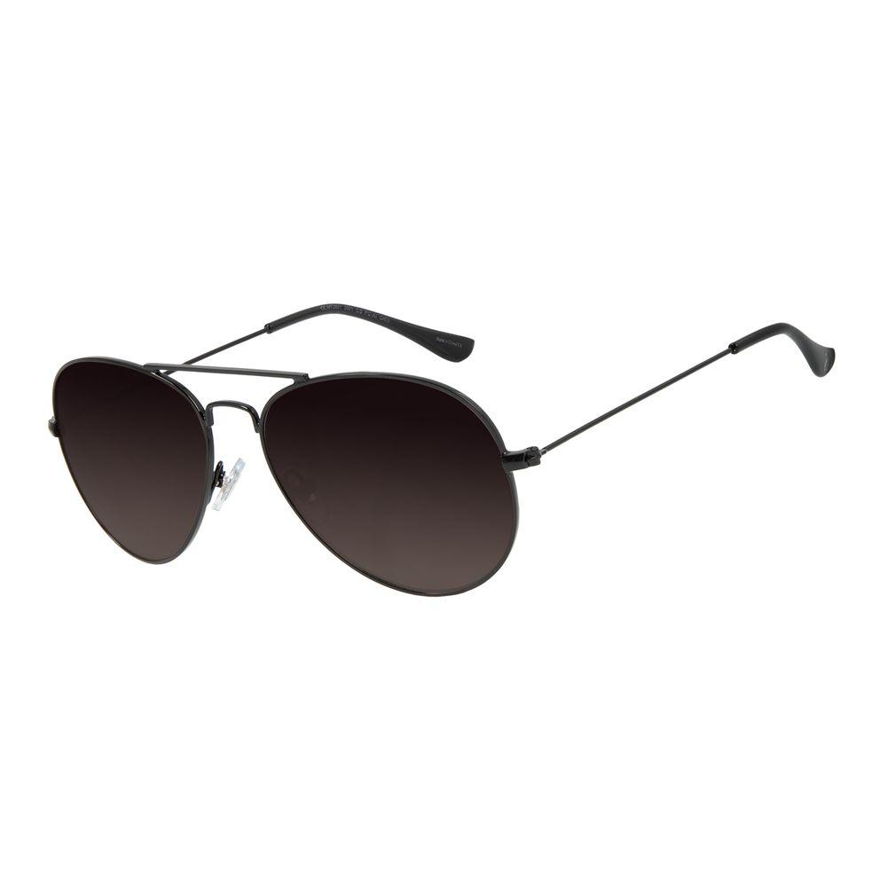 Óculos de Sol Unissex Chilli Beans Essential Aviador Metal Brilho Degradê OC.MT.3078-2001