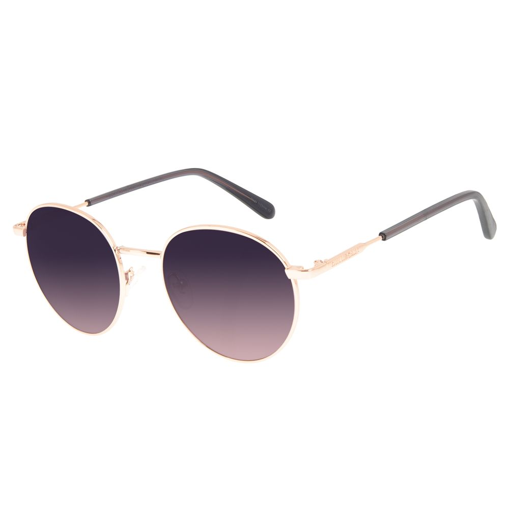 Óculos de Sol Unissex Chilli Beans Banhado A Ouro Rosé OC.MT.3126-2095