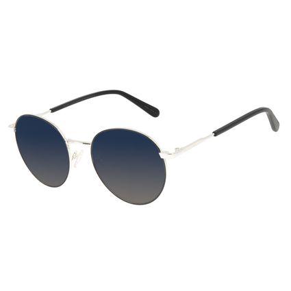 Óculos de Sol Unissex Chilli Beans Banhado A Ouro Prata OC.MT.3126-8307