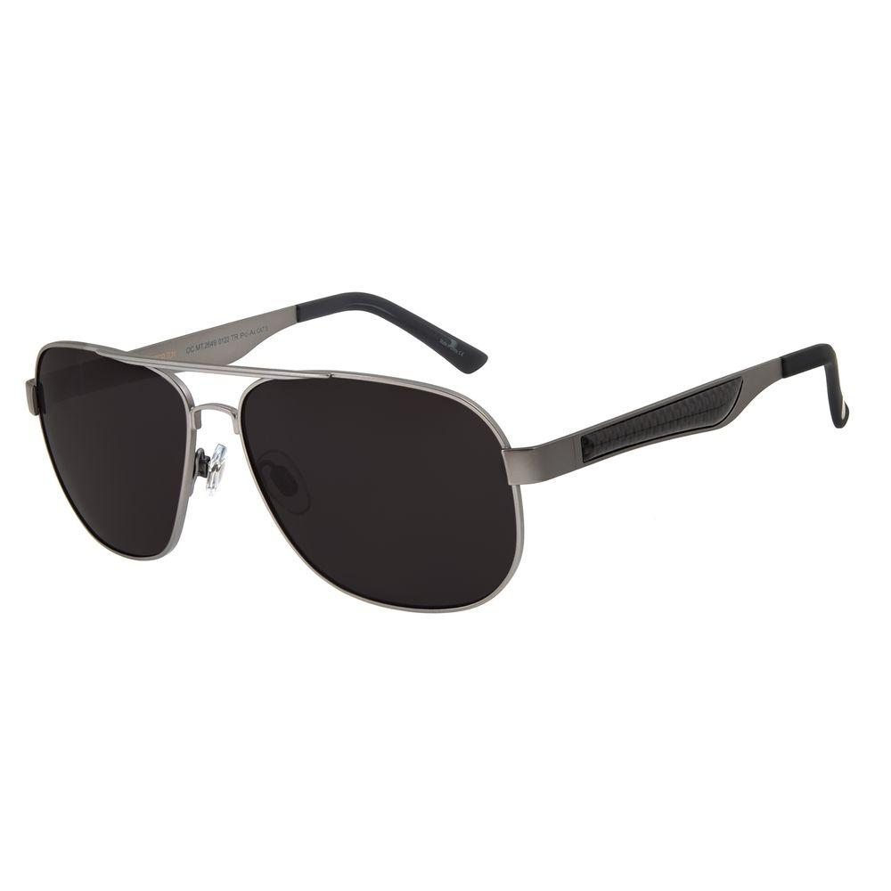 Óculos de Sol Masculino Chilli Beans Executivo Polarizado MT Ônix OC.MT.3141-0122