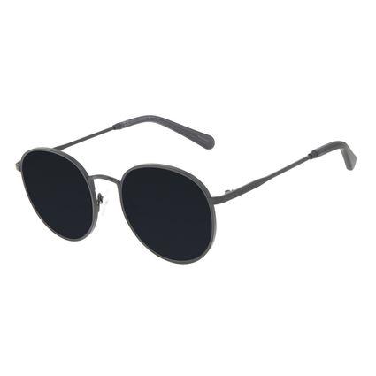 Óculos de Sol Feminino Chilli Beans Redondo MT Fosco Preto OC.MT.3145-0101