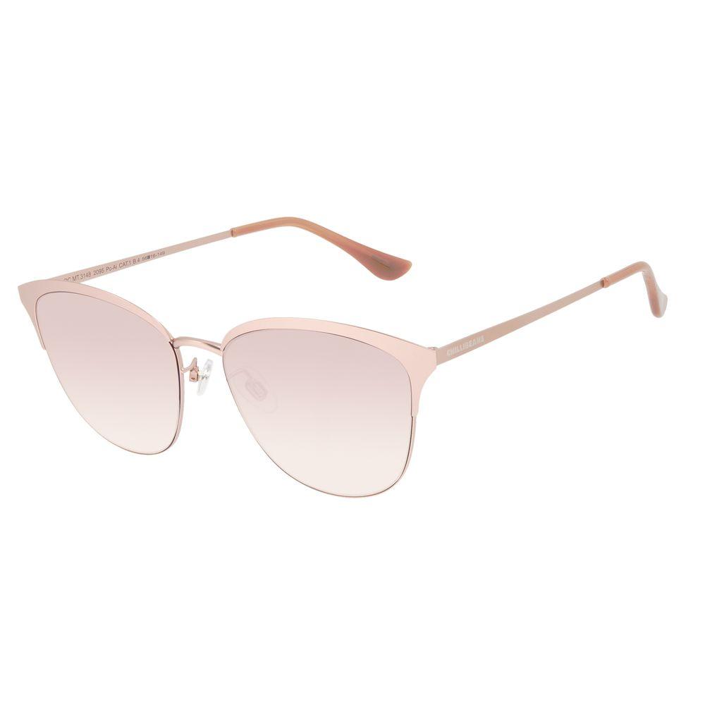 Óculos de Sol Feminino Chilli Beans Quadrado Fosco Rosé OC.MT.3148-2095