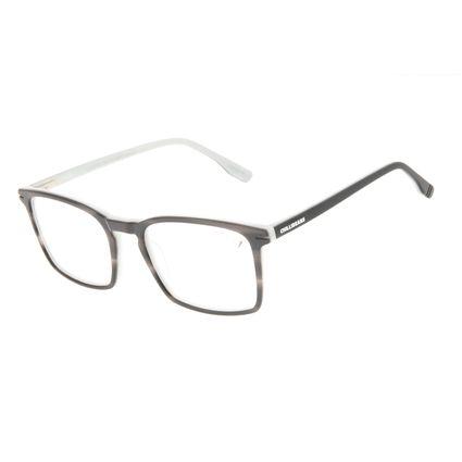 Armação Para Óculos de Grau Masculino Chilli Beans Quadrado Casual AC Cinza LV.AC.0708-0404