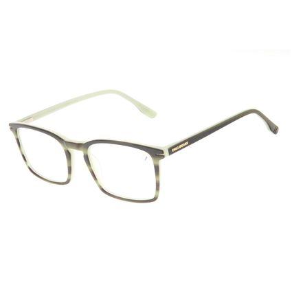 Armação Para Óculos de Grau Masculino Chilli Beans Quadrado Casual AC Verde LV.AC.0708-1515