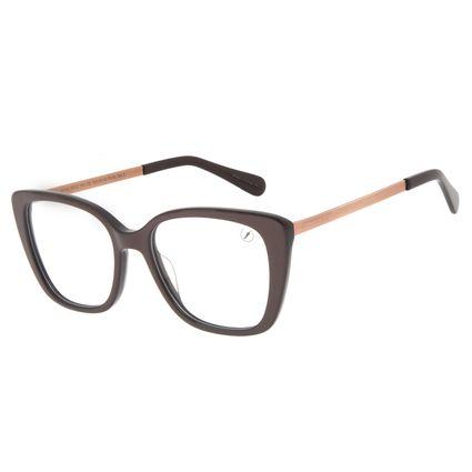 Armação Para Óculos de Grau Feminino Chilli Beans Cat Brilho Vinho LV.AC.0713-1723