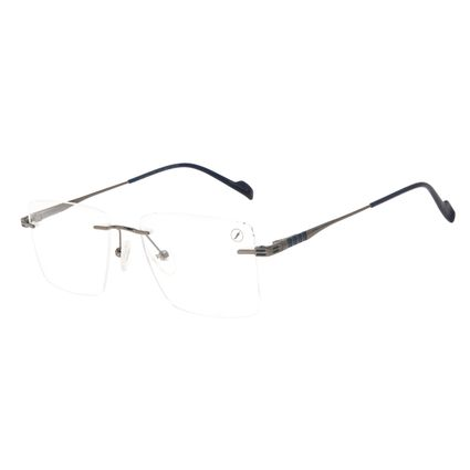 Armação Para Óculos de Grau Feminino Chilli Beans 3 Peças MT Fosco Ônix LV.MT.0506-2222