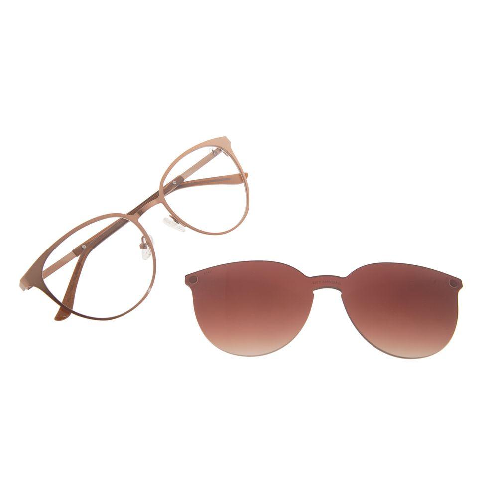 Armação Para Óculos de Grau Feminino Chilli Beans Essential Multi Marrom LV.MU.0553-5702