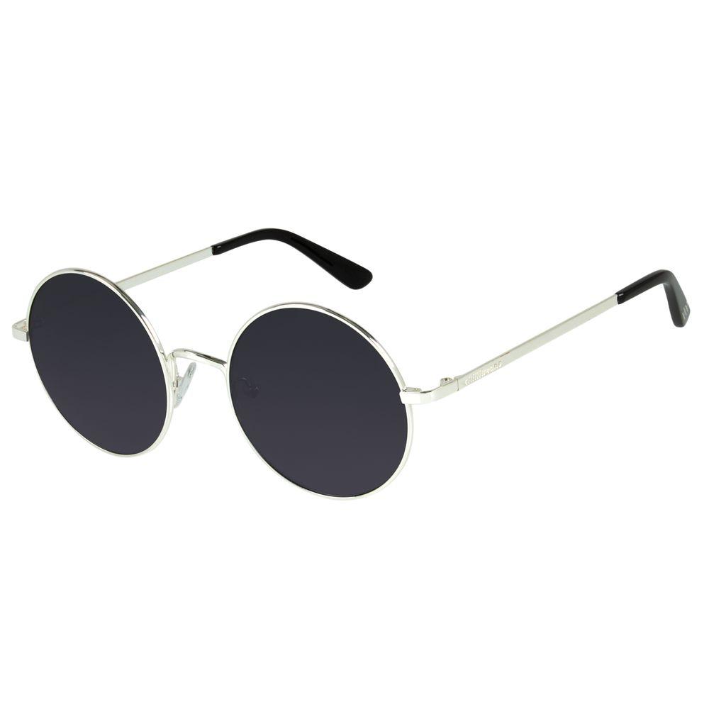 Óculos de Sol Unissex Harry Potter Redondo Prata Banhado a Ouro OC.MT.3167-0107
