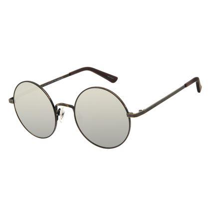 Óculos de Sol Unissex Harry Potter Redondo Dourado OC.MT.3166-0221