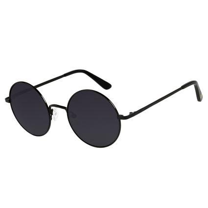 Óculos de Sol Unissex Harry Potter Redondo Preto OC.MT.3166-0101
