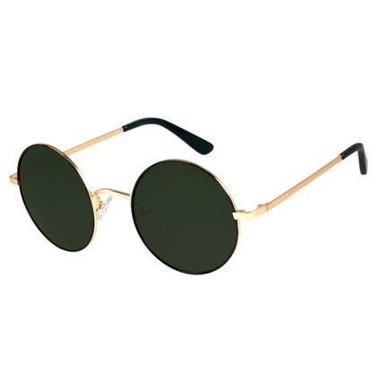 Óculos de Sol Unissex Harry Potter Redondo Verde OC.MT.3166-1521