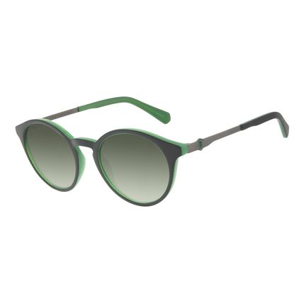 Óculos de Sol Unissex Harry Potter Slytherin Redondo Verde OC.CL.3344-1501