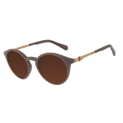 Óculos de Sol Unissex Harry Potter Gryffindor Redondo Marrom OC.CL.3344-1502