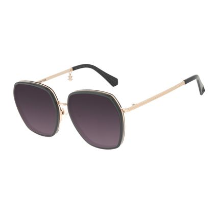 Óculos de Sol Feminino Harry Potter Chocolate Frog Quadrado Degradê OC.CL.3345-2021