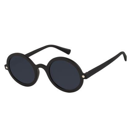 Óculos de Sol Unissex Harry Potter Magic Spectrespecs Redondo Preto OC.CL.3356-0101