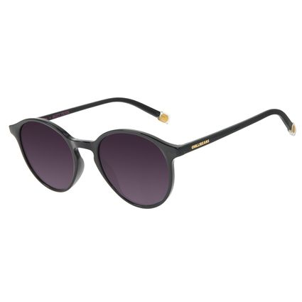 Óculos de Sol Feminino Harry Potter Honey Duke's Redondo Preto OC.CL.3375-2001