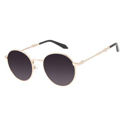 Óculos de Sol Feminino Harry Potter Luna Lovegood Dourado OC.MT.3154-2021