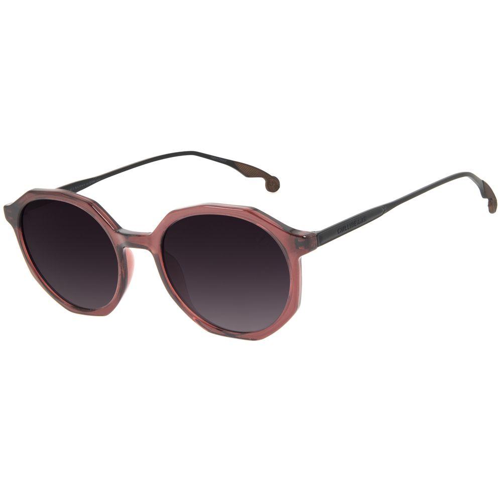 Óculos de Sol Unissex Harry Potter Pomo de Ouro Redondo Vinho OC.CL.3379-2017