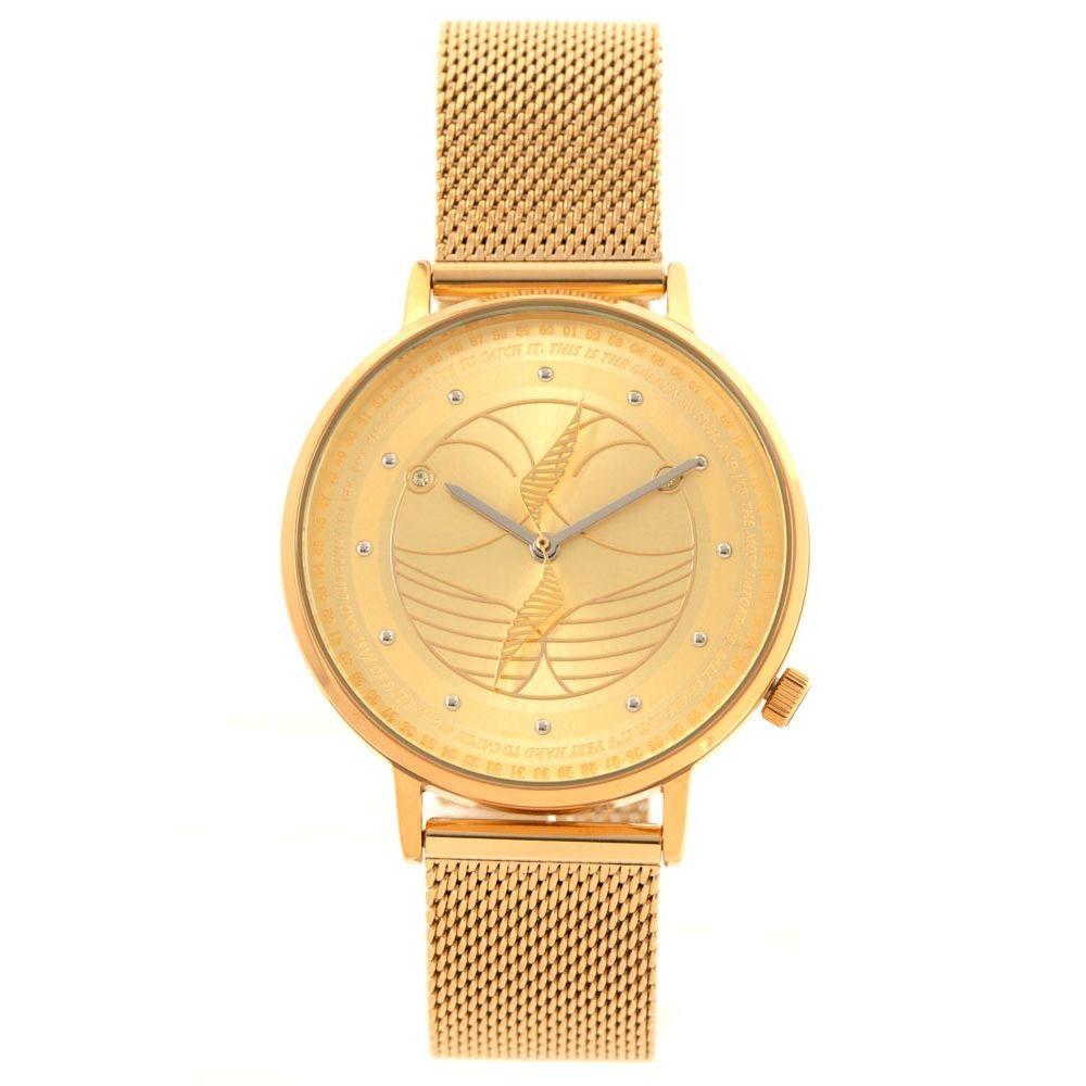 Relógio Analógico Unissex Harry Potter Pomo de Ouro Dourado RE.MT.1244-2121