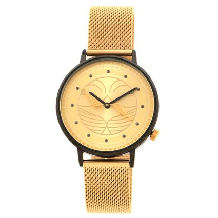 Relógio Analógico Unissex Harry Potter Pomo de Ouro Preto RE.MT.1244-0121