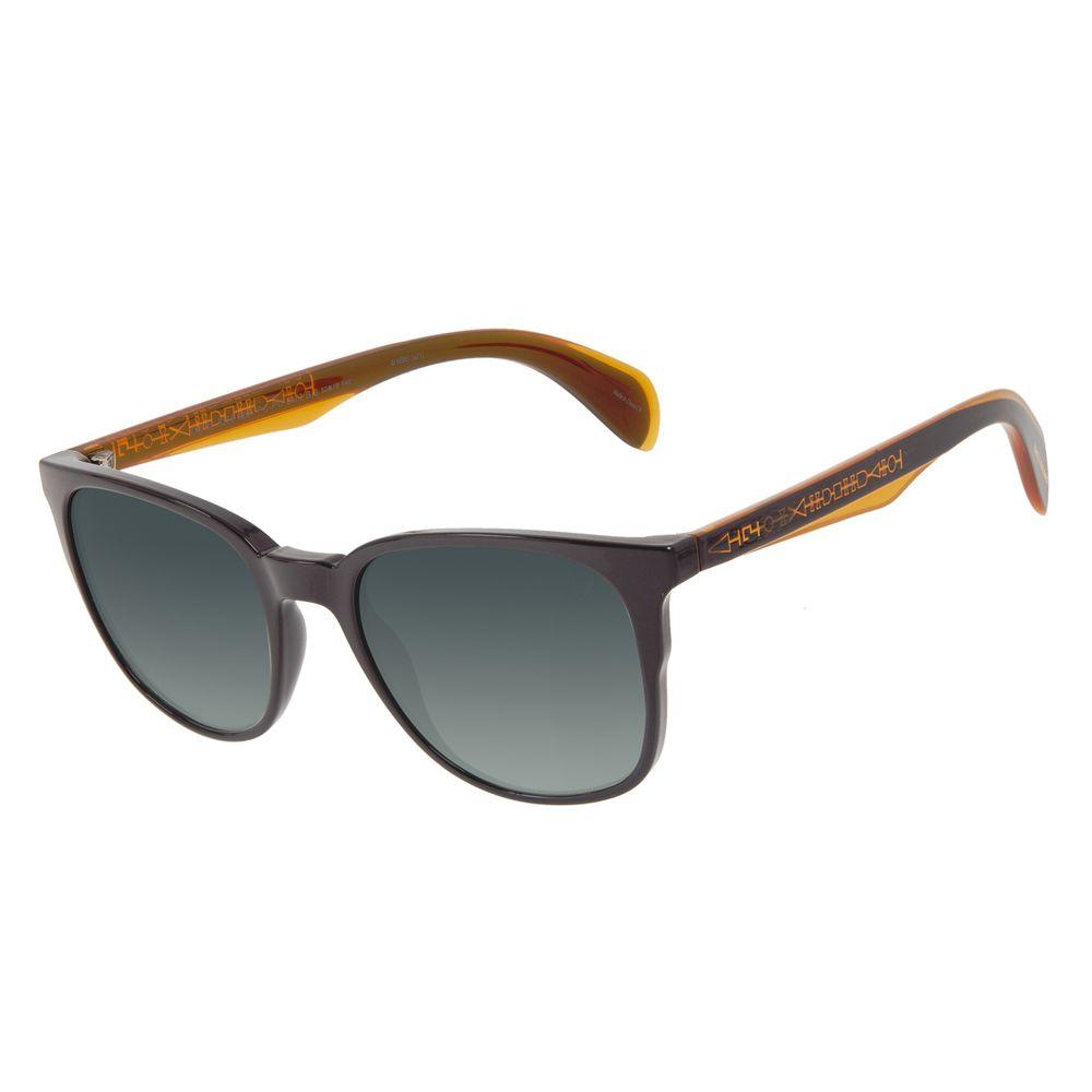 Óculos de Sol Unissex Harry Potter Sirius Black Quadrado Degradê Verde OC.CL.3376-8201
