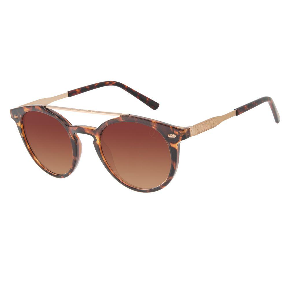 Óculos de Sol Unissex Harry Potter Hogwarts Express Redondo Marrom OC.CL.3378-5702