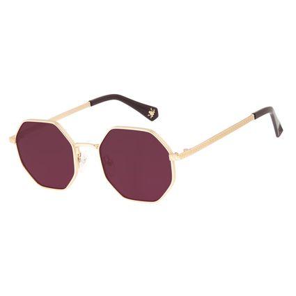 Óculos de Sol Feminino Harry Potter Sapo de Chocolate Roxo OC.MT.3198-1421