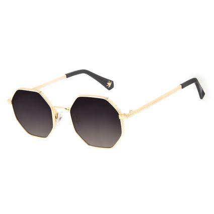 Óculos de Sol Feminino Harry Potter Sapo de Chocolate Dourado OC.MT.3198-2021