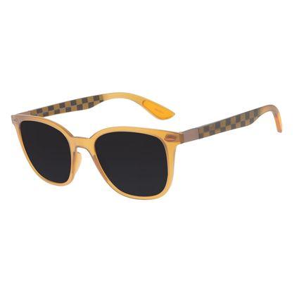 Óculos de Sol Masculino Harry Potter Hufflepuff Bossa Nova Fosco OC.CL.3353-0131