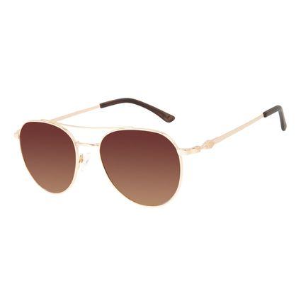 Óculos de Sol Unissex Harry Potter Nagini Aviador Bege OC.MT.3197-5723