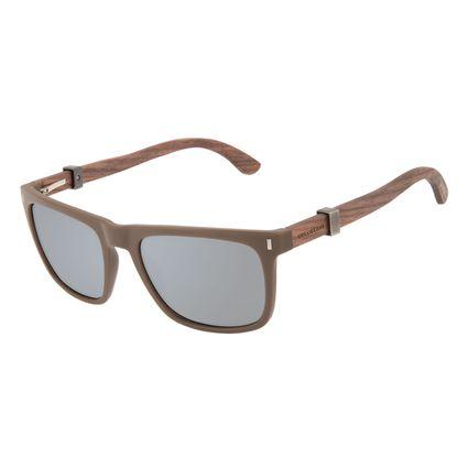 Óculos de Sol Masculino Harry Potter Vassoura Nimbus 2000 Bossa Nova Marrom Polarizado OC.CL.3354-0127