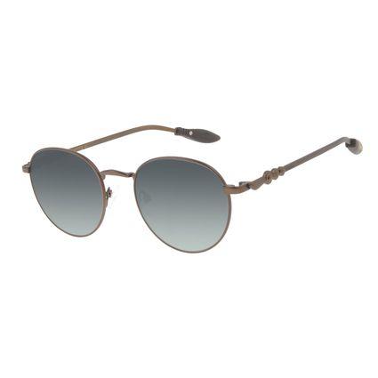 Óculos de Sol Unissex Harry Potter Quadribol Redondo Degradê Verde OC.MT.3195-8202