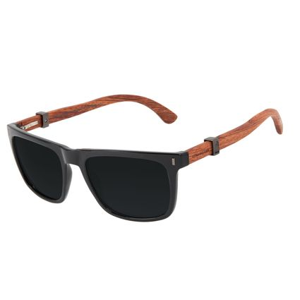 Óculos de Sol Masculino Harry Potter Vassoura Nimbus 2000 Bossa Nova Preto Polarizado OC.CL.3354-0101