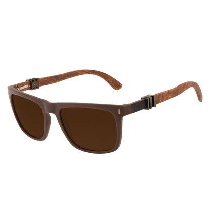 Óculos de Sol Masculino Harry Potter Vassoura Nimbus 2000 Bossa Nova Marrom Escuro Polarizado OC.CL.3354-4702