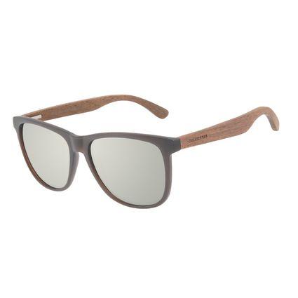 Óculos de Sol Masculino Chilli Beans Bamboo Polarizado Quadrado Espelhado OC.CL.3335-3202
