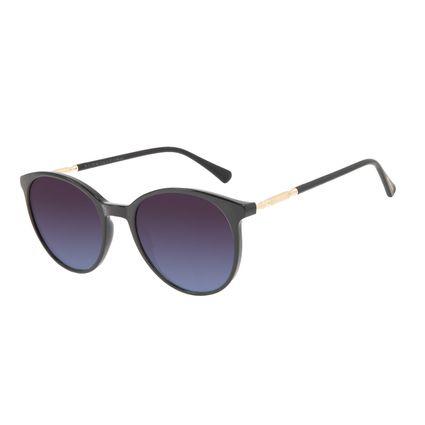 Óculos de Sol Feminino Harry Potter Severus Snape Redondo Preto OC.CL.3359-8301