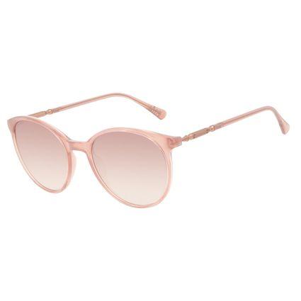 Óculos de Sol Feminino Harry Potter Severus Snape Redondo Rosé OC.CL.3359-9595